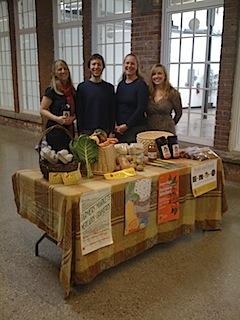 Farm Fresh RI Staff (l-r): Jessica Knapp, Noah Fulmer, Sheri Griffin, Christie Moulton