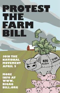 Farm bill poster